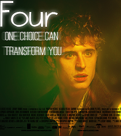 Max Irons Four Tobias Eaton Divergent Movie Poster Fan made