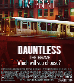 Divergent Dauntless faction movie poster fan made