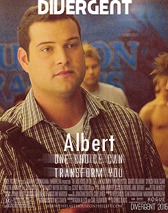 Max Adler Glee Divergent Movie Poster fan made