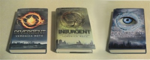 Divergent Insurgent Convergent fanmade Veronica Roth