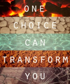 one choice can transform you Divergent Veronica Roth