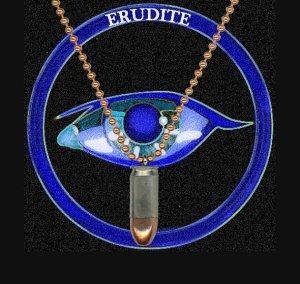 Erudite Bullet Casing Divergent Jewelry
