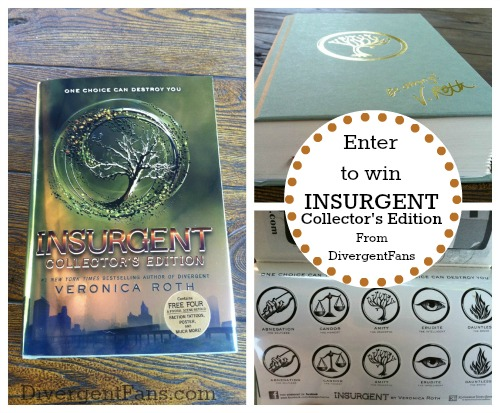 Insurgent Collector's Edition Contest Divergent Fans