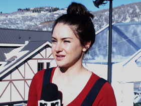 Shailene Woodley MTV