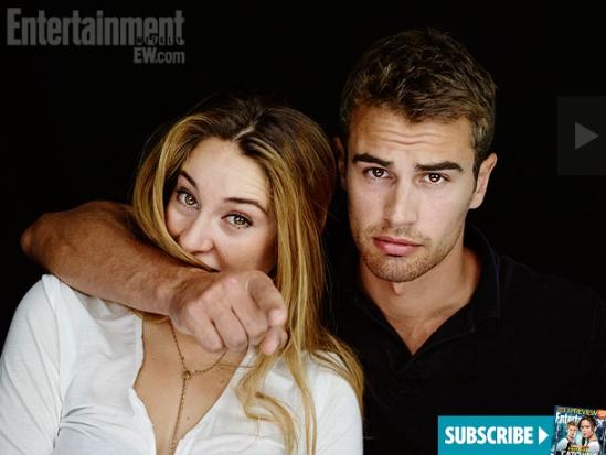 Divergent Cast Comic Con 1