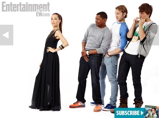 Divergent Cast Comic Con 2