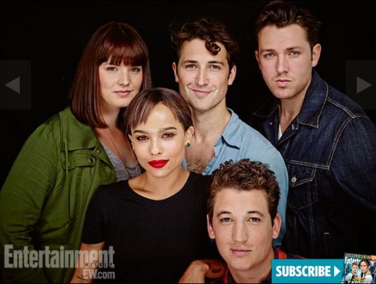 Divergent Cast Comic Con 6