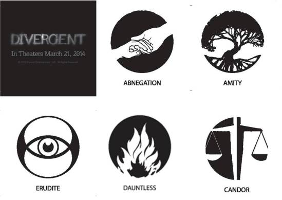 DIVERGENT Temporary Tattoos - Summit Booth