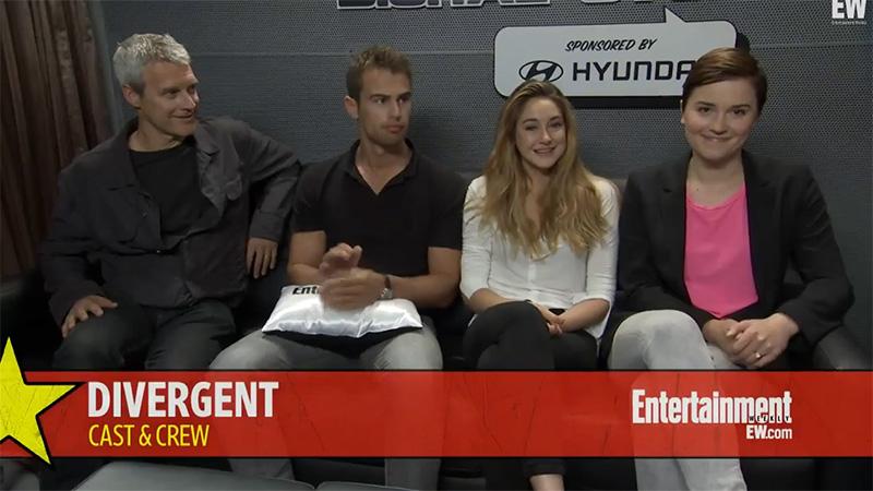 divergent cast and crew