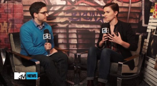 veronica roth MTV interview