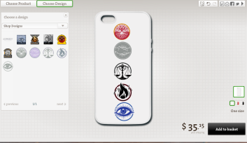 divergent-iphone-case
